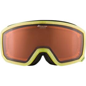 Alpina Scarabeo S DH Gafas, yellow translucent